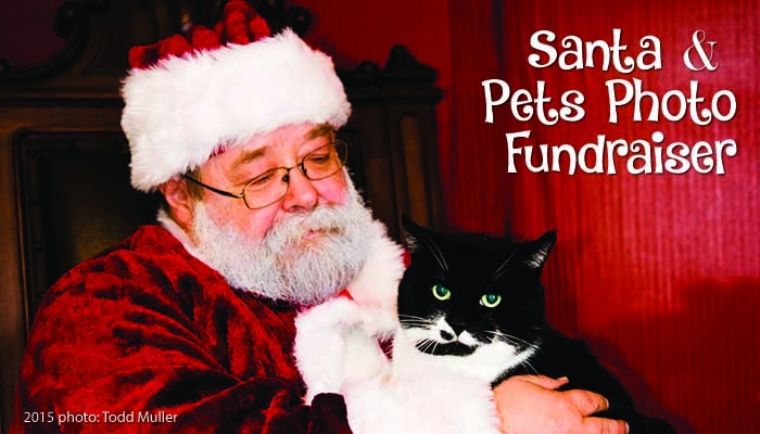 Santa and Pets Photo Fundraiser